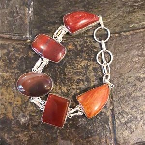 Jewelry - Gemstone and 926 SS Bracelet